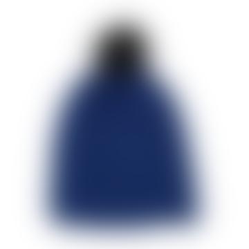 Cobalt Chunky Knit Beanie Hat