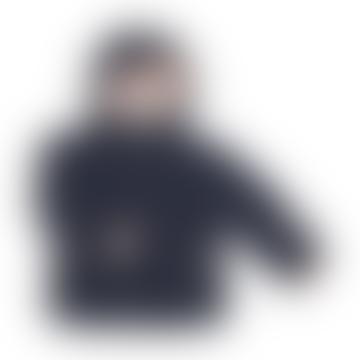 Navy Wessel Jacket