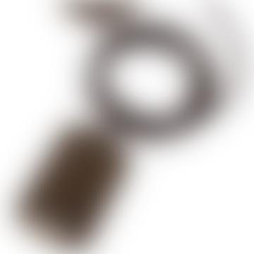 Giant Bronze Pendant E40 Cord