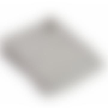 Grey Knitted Alpaca Mix Throw 130cm x 180cm