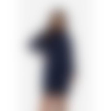 Hutspot Navy Knitted Dress