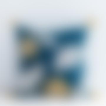 Devi Pillowcase - Indigo Blue / 24 x 24 inches