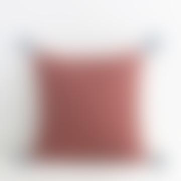 Brick Red 16x16 Ashima Pillowcase
