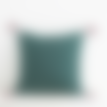 Jamini Forest Green 16x16 Ashima Pillowcase
