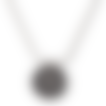 Gnasher Beano Sterling Silver Necklace & Round Mini ID Tag
