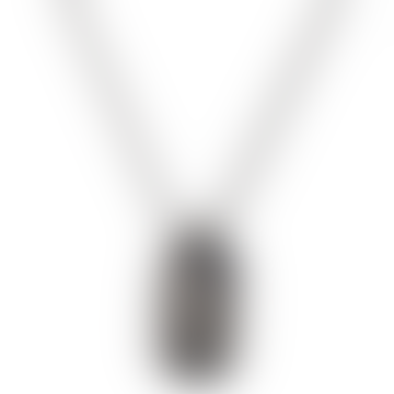 Dennis & Gnasher Beano Sterling Silver Necklace & Rectangular Mini ID Tag