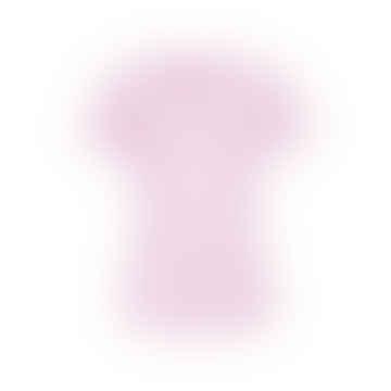Soft Pink Round  Neck T Shirt