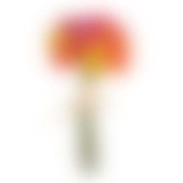 Mini Mix Ranunculus Flower Bundle Decor