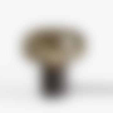 Black Marquina With Smoked Glass Karl Johan Table Lamp