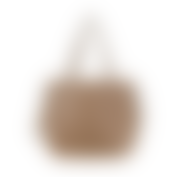 Brown Crossbody Everyday Tote Bag Ethical Vegan Faux Leather