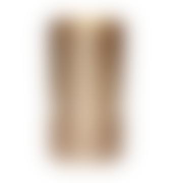 Brushed & Matte Brass Vase