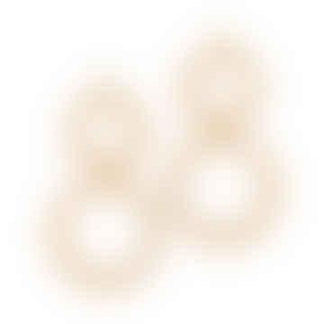 Linen Cora Earrings