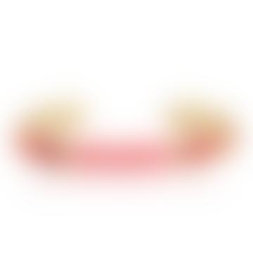 Massai Bis Pink Bracelet Gold Plated