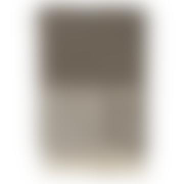 home Ib Laursen Dark Brown With Cream Pattern Throw