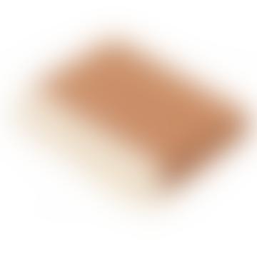 Saffron Parquet Luxury Merino Lambswool Throw 140cm x 185cm