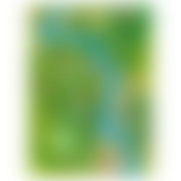 Green Beautiful Weserbergland Poster