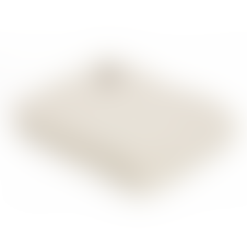 Cream Knitted Alpaca Mix Throw 130cm x 180cm