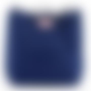 Blue Cotton Canvas Bag