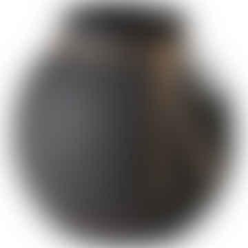 FERG FORM Dark Grey Stoneware Vase