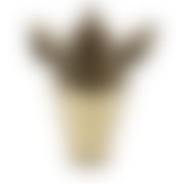 Gold Jar Ear Vase