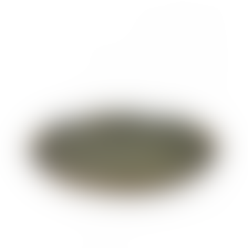 Stoneware Indi Grey Surface Plate - medium
