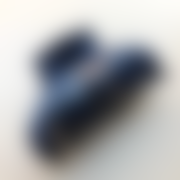 Blue Denim Glitter Hair Clip