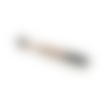 Black Adult Bamboo Toothbrush With Bamboo Handle