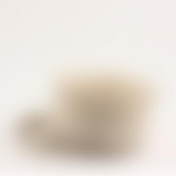 Kagu Interiors Wide Fine Ceramic Bowl with plate -  Cream