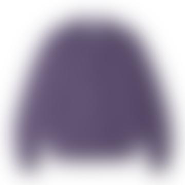 Seamless Raglan Shetland Knit in Viola