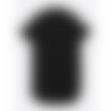 Lowie Black Linen Shirt Dress