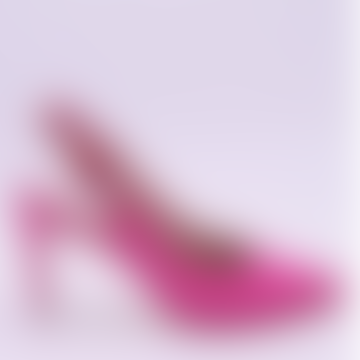 Miley Fuchsia Jewelled Slingback Pumps