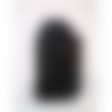 Medium Licorice Black Blok Backpack Bag