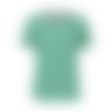 Grass Stripe Green T Shirt