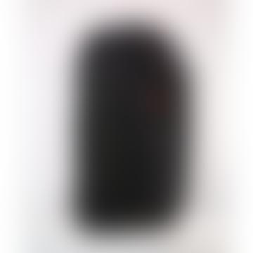 Large Licorice Black Bold Blok Backpack Bag