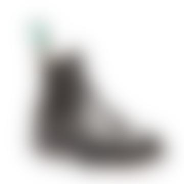 Black High Shine Dealer Shoe