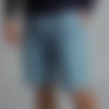 'LANTERN' Denim Drawstring Shorts