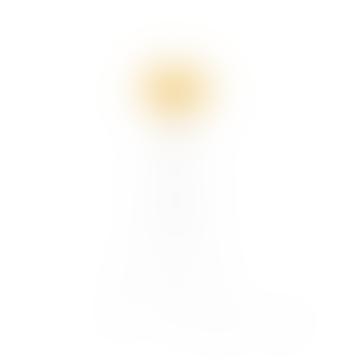 Mini Sahara Carmina White Tripod Floor Lamp