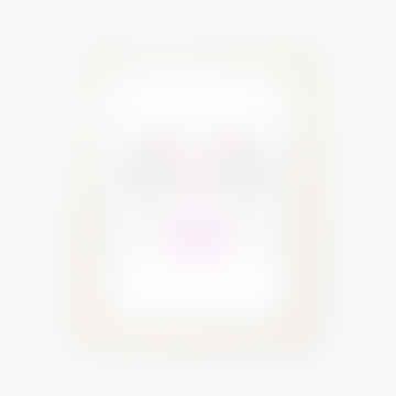 A4 Girl Girl Heart Hands Print Neon Pink / Yellow