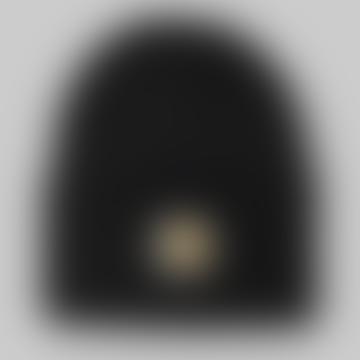 Black Acrylic Watch Hat Black