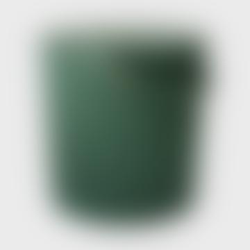 Medium Green Lidded Storage Bucket