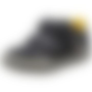 GEOX Navy Grey 35 J Elvis E Shoe