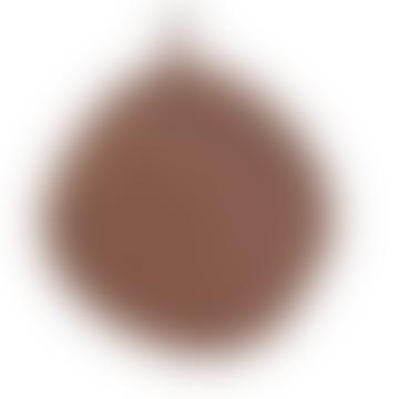 Set of 2 Brown Linen Potholders