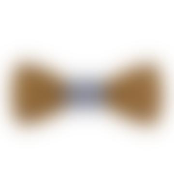 Paris Wooden Bow Tie