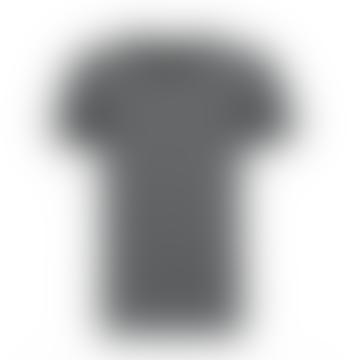 Rebel & Crown Slim Fit Charcoal Crew Neck T-shirt