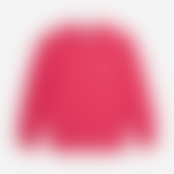 Fuchsia Fox Head Patch Sweatshirt