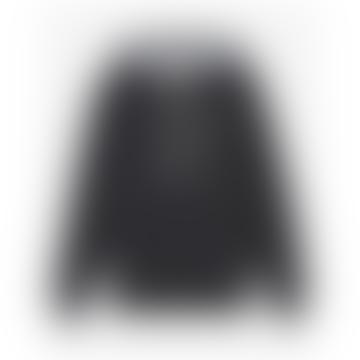 Black Oversize Hoodie Jacket