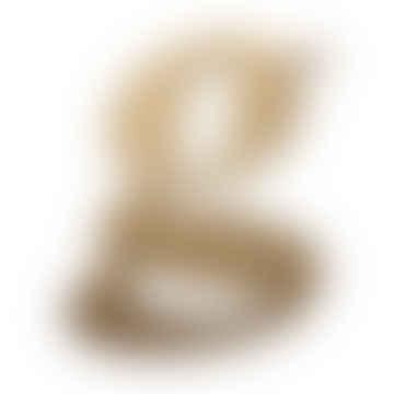 Omm Design Gold G Metal Vintage Letter