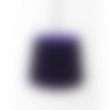 Colourplan Twin Tone Lampshade - Amethyst & Dark Blue