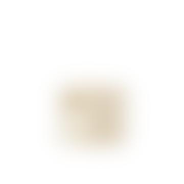 Gold Foil Cotton Canvas Speck Basket
