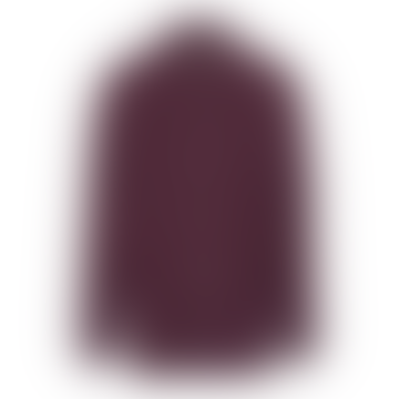 Mauve Wine Structured Big Pockets Overshirt